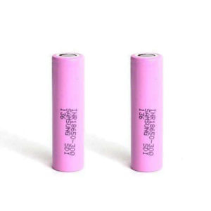 Samsung 30Q 18650 3000mAh 15A Battery (2 Pack)