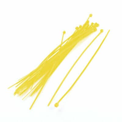 yellow cable tie for rc drones