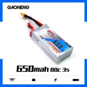 GNB Battery 11.1V 650mAh 3S