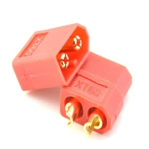 XT60 Connector Male + Female Pack – Red