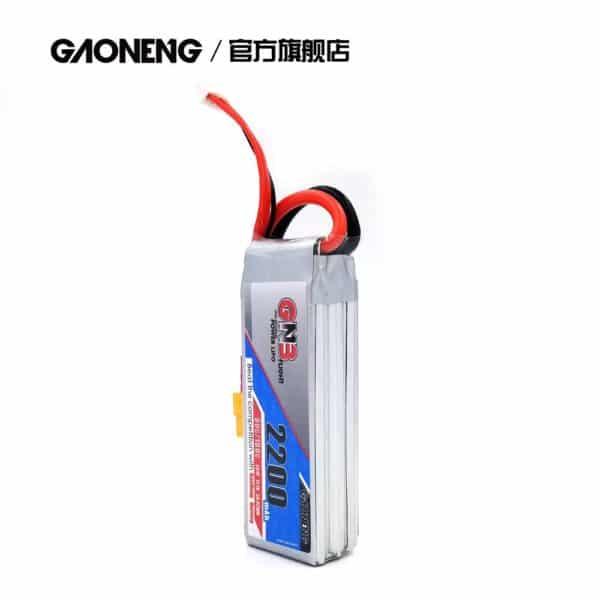gaoneng gnb lipo battery 2200mah 3s 80c