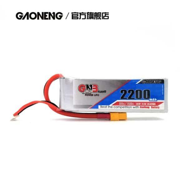 gaoneng gnb lipo battery 80c 2200mah 3s