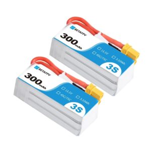 BETAFPV 300mAh 3S 45C Battery (2PCS)