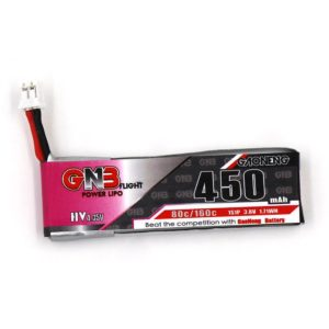 GNB Battery 3.8V 450mAh 1S for EMAX TinyHawk