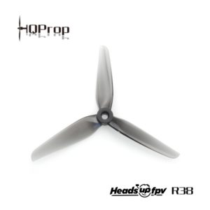 HQProp R38 HeadsUp Racing 5.1×3.8×3 Propeller (Set of 4)