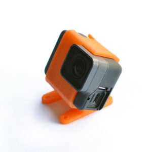 3D Printed Source One 25° GoPro Hero 5/6/7 Mount