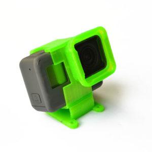 3D Printed Source One 25° Low Profile Mount w/ ND Filter for Hero 5/6/7