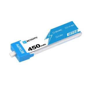 BETAFPV BT2.0 450mAh 1S 30C HV Battery