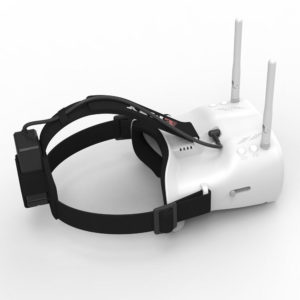EMAX 5.8G 48CH FPV Headset With Dual Antennas For FPV Drones