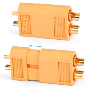 XT60 Plug Connector Pair – Yellow