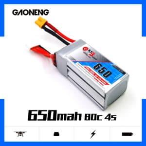 gaoneng gnb lipo battery 650mah 4s 80c