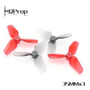HQProp 35MMX3 1mm Micro Whoop Props (2 Colours)