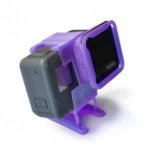 3D Printed iFlight 25° Low Profile Mount w/ ND Slot for Hero 5/6/7