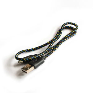 Premium Braided Micro USB Cable 500mm